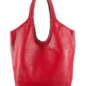 Jennifer Haley Large Sophisticated Shopper in Red